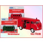 "Welly-Modellauto Blister ""VW Bus'63"