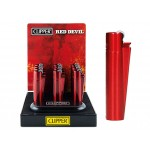 "CLIPPER Feuerzeug ""Red Devil"" - 12er Display"
