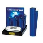 "CLIPPER Feuerzeug ""Deep Blue"" - 12er Display"