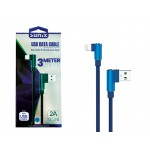 "SUNIX- SC-27 ""USB Datenkabel IOS"" Winkelstecker - 3m"