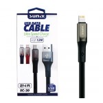 "SUNIX- SC-20 USB Datenkabel ""IOS""- 1,2m - 2,4 A"