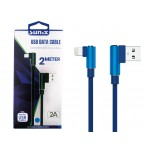 "SUNIX- SC-23 USB Datenkabel ""IOS""- 2m - 2 A"