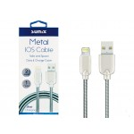 SUNIX- SC-13- IOS-APPLE -Metall-Kabel- highspeed 2 Ampere- 1m