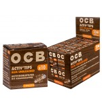 """OCB Active Tips """"Slim Unbleached"""" 20 x 10 Tips"""