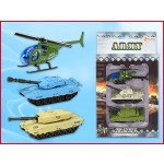 Army Tank mit Helikopter